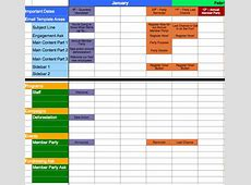 A Template for Calendaring Your Messaging