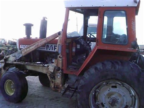 massey ferguson 1105 tractor salvaged for used parts call 877 530 4430 we buy salvage farm