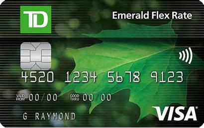 Card Credit Td Emerald Visa Cards Canada