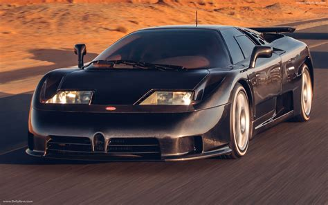 For the fastest acceleration, the fastest series production sports car, the fastest sports car. 1992 Bugatti EB110 Super Sport - Dailyrevs