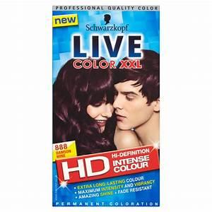 New Schwarzkopf Live Hair Color XXL Permanent Professional