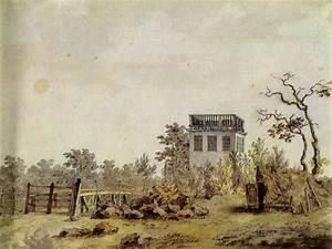 Berühmte Kunstwerke Der Romantik : friedrich caspar david landschaft mit pavillon ~ One.caynefoto.club Haus und Dekorationen