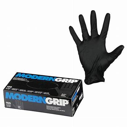 Gloves Nitrile Mil Thickness Disposable Grip Latex