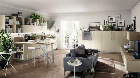 Wohnzimmer Küche Kombinieren by Funktionelles Wohnzimmer Design In Die Tat Umsetzen