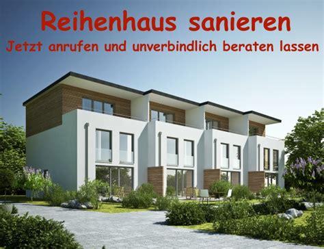 Reihenhaus Sanieren  Sanierung Berlin Modernisierung