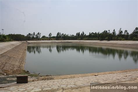 hyundai india chennai factory rain water harvesting pond