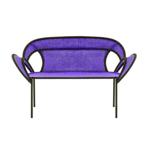 banjooli sofa purplebrown moroso