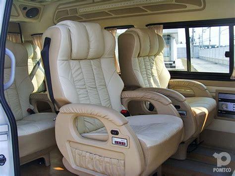 toyota hiace super vip  seats caravan rv pinterest