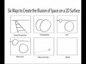 Six Ways to Create an Illusion of Space in Art