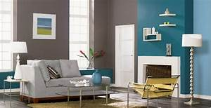 Wände Streichen Farbe : w nde mit farbe streichen ideen f r trendige farbduos ~ Markanthonyermac.com Haus und Dekorationen