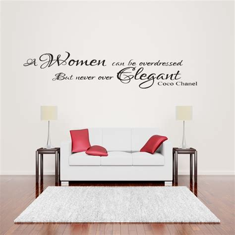 coco chanel quotes wall decals quotesgram