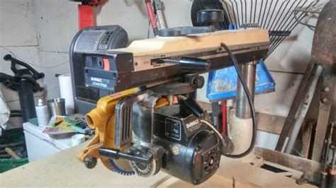 Vintage Dewalt 7770 Radial Arm Saw