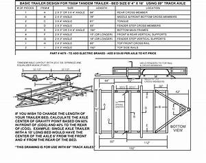 Build Your Own Utility Trailer With Champion Trailers Tandem Undercarriage Kit