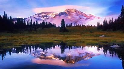Windows Screensavers Wallpapers Screen Mountain Nature Savers