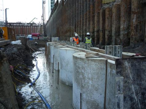useable guide wall formwork piling products cordek