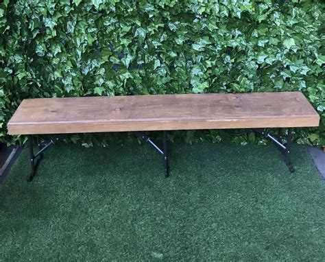 wooden bench seats atlas event party hire party hire