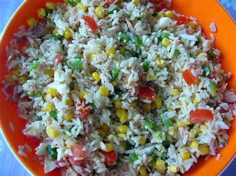 recette de cuisine sur 2 recette de salade de riz par comeleo