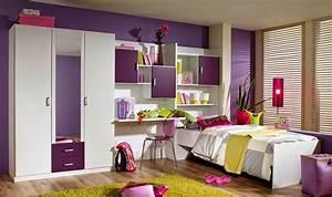 Chambre Fille Ado : chambre ado fille ~ Teatrodelosmanantiales.com Idées de Décoration