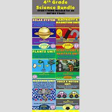 4th Grade Science Bundle Entire Year  Activities, 4th Grade Science And Elementary Teacher