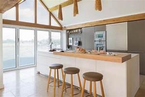 Aménager à la maison une cuisine moderne au design sobre