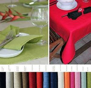 Nappes Et Serviettes De Table Set De Table