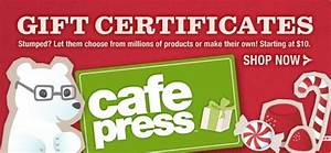 CafePress Gift Certificates Best Last Minute Tripawds Gifts