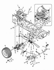 Cub Cadet Ltx 1045 Drive Belt Diagram