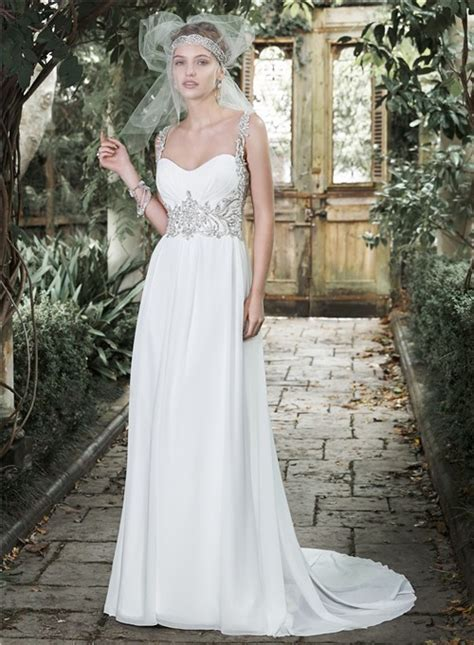 garden wedding dresses gorgeous sweetheart open back chiffon beaded destination