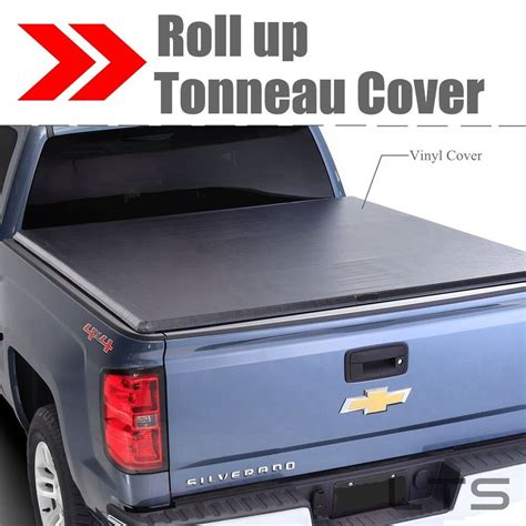S10 Bed Cover by Lock Roll Up Soft Tonneau Cover For 94 04 Chevrolet S10