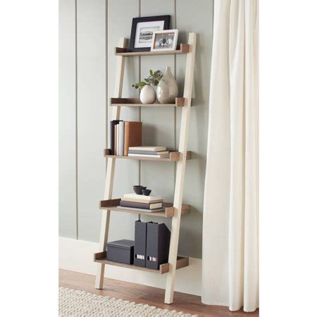 Leaning Bookcase Walmart by Better Homes And Gardens Bedford 5 Shelf Leaning Bookcase