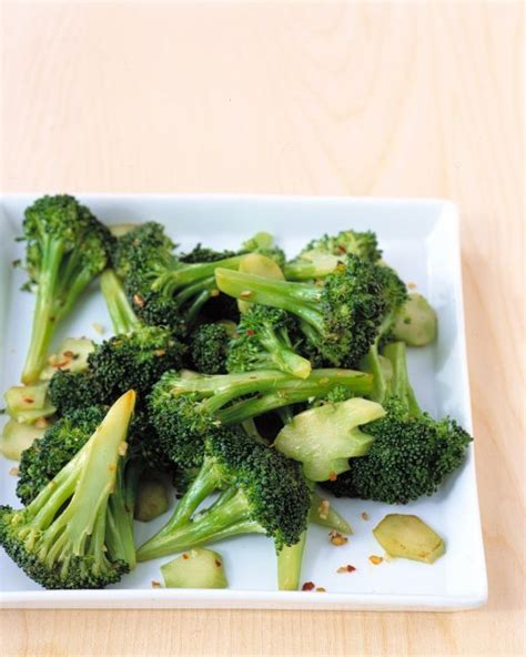 Spicy Garlic Broccoli Recipe