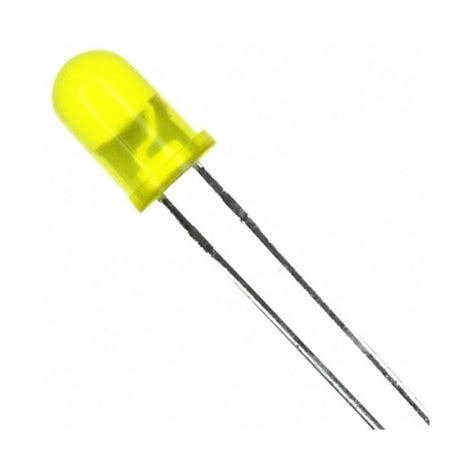led 5mm yellow leds box electronica shop online standard