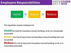 Safe Manual Handling In The Workplace