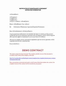 contract termination letter free printable documents With samples of termination letters for a contract