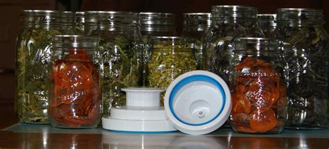 discovering attachments  vacuum seal dehydrated food  canning jars