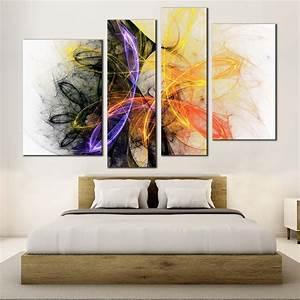 Fractal, Lights, Canvas, Wall, Art, Beautiful, Bright, Abstract