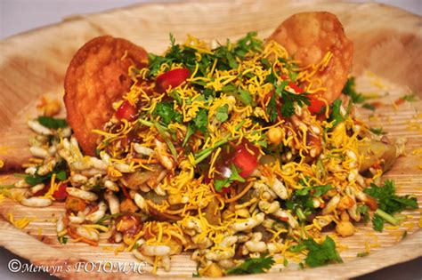 bhel paapdi puri hildas touch  spice