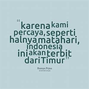 INDONESIA QUOTES image quotes at relatably.com