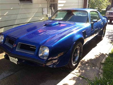 1974 Pontiac Firebird Trans Am For Sale