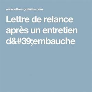 Modele De Lettre De Relance : 17 meilleures id es propos de lettre candidature sur pinterest lettre de motivation ~ Gottalentnigeria.com Avis de Voitures