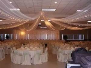DIY Wedding ceiling decorating ideas - YouTube