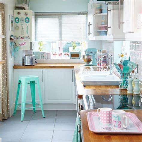 retro kitchen colors 18 encantadoras cocinas decoradas en color pastel 1932