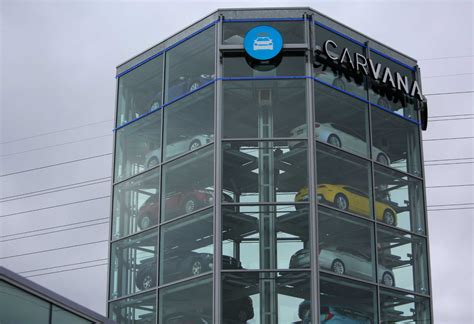 New Carvana Tower Aims To Make Car Buying 'fun' Houston