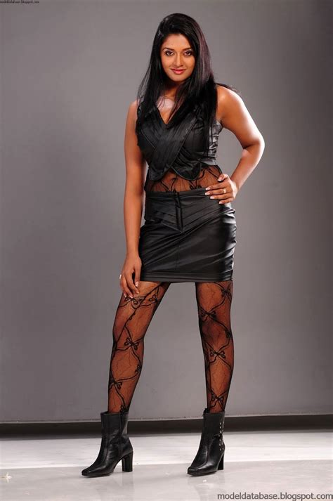 vimala raman posing sensually   leather super tight