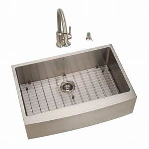 Vigo all in one farmhouse apron front stainless steel for 33x22 farmhouse sink