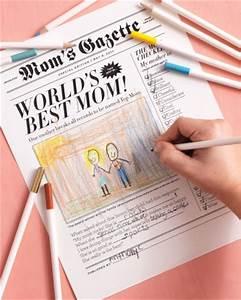 Da de la madre Portada de periódico para Imprimir Gratis