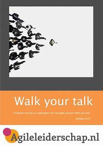 EChapter Walk your talk Agileleiderschap