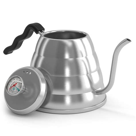 kettle tea coffee gator stainless steel spout pour stovetop teapot thermometer gooseneck water litre amazon hand stove boil drip pourover