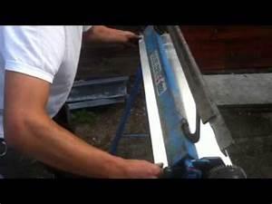 Pliage de tôle zinc pour chêneau et soudure étain YouTube