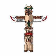 Totem poles on Pinterest | 61 Pins